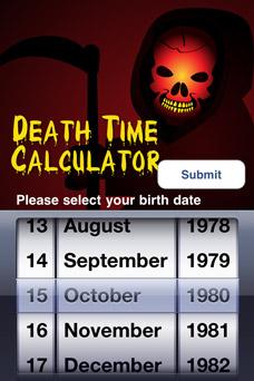 Death Time Calculator